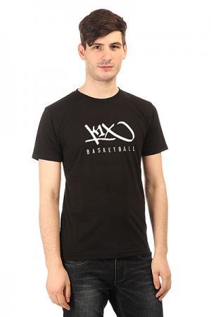 Футболка  Hardwood Tee Black K1X. Цвет: черный