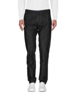 Джинсовые брюки HARRY & SONS. Цвет: стальной серый
