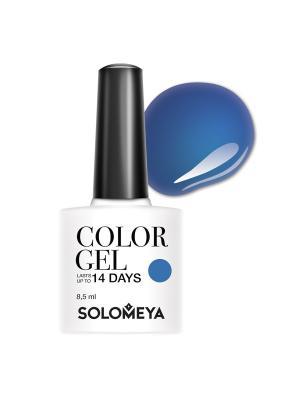 Гель-лак Solomeya Color Gel Ursula SCGK047/Урсула. Цвет: синий