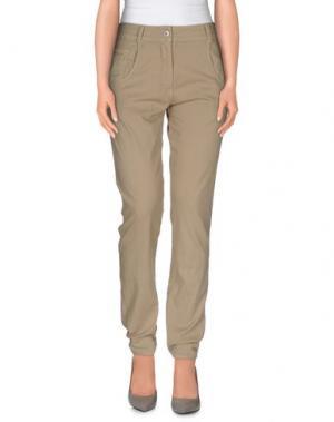 Повседневные брюки PAOLA FRANI. Цвет: бежевый