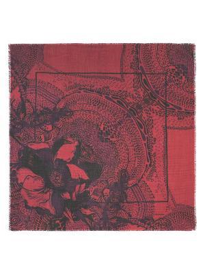 Платок Eleganzza. Цвет: черный, бордовый