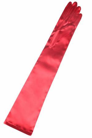 Перчатки Long Satin Agent Provocateur. Цвет: красный
