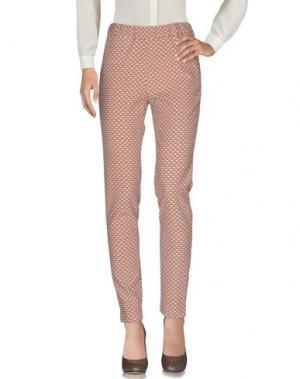 Повседневные брюки GIGUE. Цвет: светло-коричневый