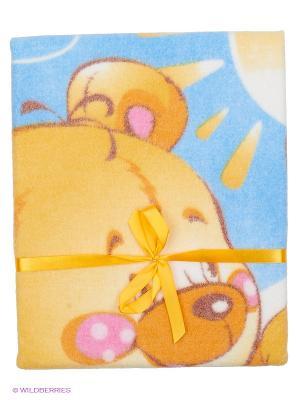 Одеяло Baby Nice. Цвет: розовый, желтый