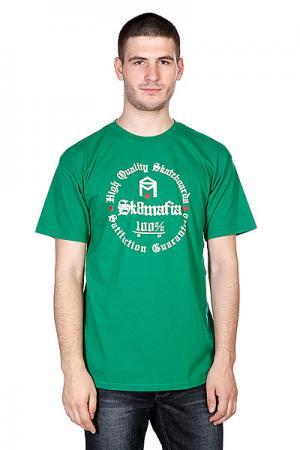 Футболка  100% Hq Kelly Green Sk8mafia. Цвет: зеленый