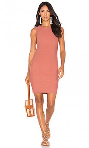 Платье tulum Acacia Swimwear. Цвет: сиреневый