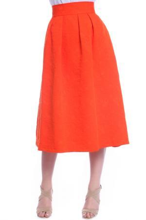 Skirt Moda di Chiara. Цвет: orange