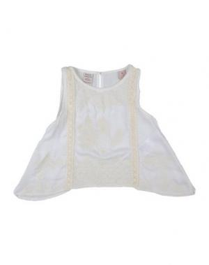Блузка SCOTCH R'BELLE. Цвет: белый