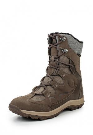 Ботинки Jack Wolfskin. Цвет: бежевый