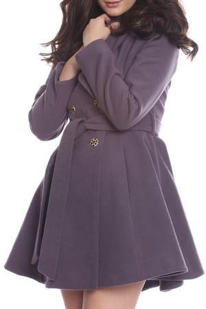 Пальто Moda di Chiara. Цвет: gray