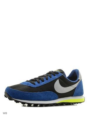 Кроссовки ELITE (GS) Nike. Цвет: синий, белый, черный