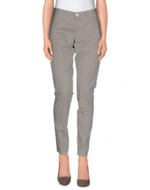 Повседневные брюки DERRIÉRE. Цвет: песочный