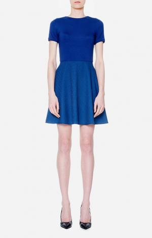 Платье Синее VIKTORIA IRBAIEVA