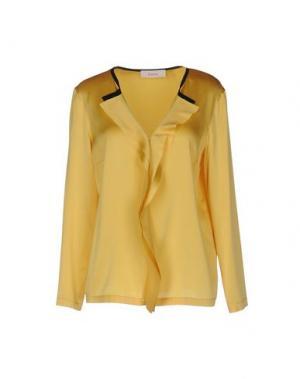 Блузка JUCCA. Цвет: желтый