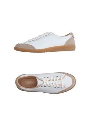 Низкие кеды и кроссовки LUIGI BORRELLI NAPOLI. Цвет: белый