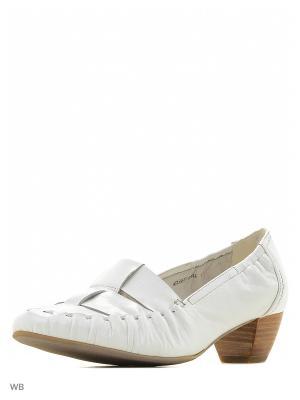 Туфли AMATO. Цвет: белый