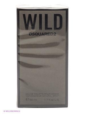 Туалетная вода WILD, 50 мл Dsquared. Цвет: серый