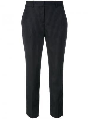Укороченные классические брюки Ines De La Fressange. Цвет: синий