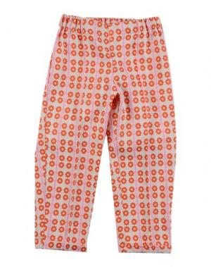 Повседневные брюки LA STUPENDERIA. Цвет: оранжевый
