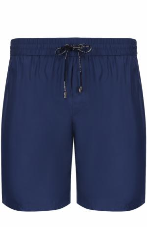 Плавки-шорты с карманами Dolce & Gabbana. Цвет: синий