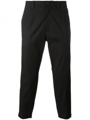 Укороченные брюки Dolce & Gabbana. Цвет: чёрный