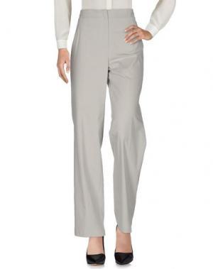 Повседневные брюки ROSSO35. Цвет: светло-серый