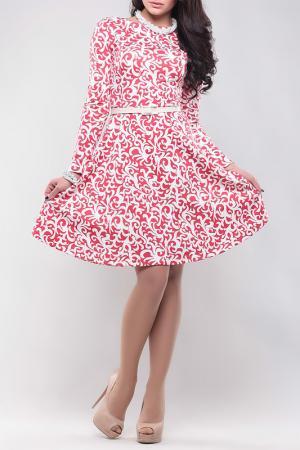 Платье REBECCA TATTI. Цвет: бело-синий