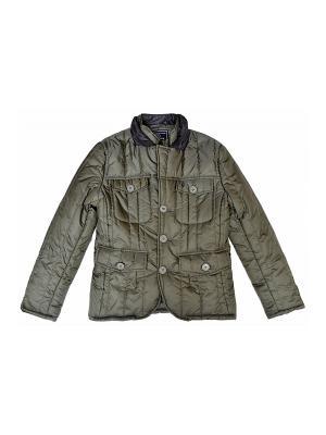 Куртка BORELLI. Цвет: оливковый