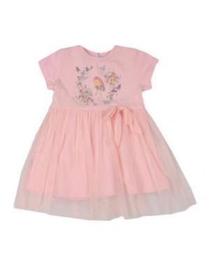Платье BEETLEJUICE. Цвет: светло-розовый