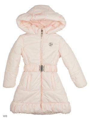 Пальто Senso kids. Цвет: бледно-розовый