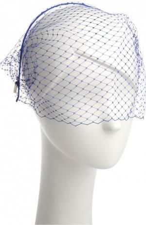 Ободок для волос Jennifer Behr. Цвет: синий