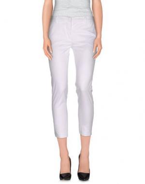 Повседневные брюки SIMONA MARTINI. Цвет: белый