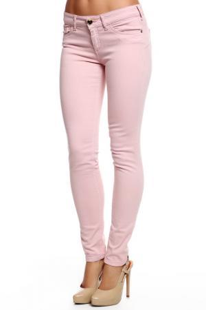 Джинсы TWIN-SET JEANS. Цвет: розовый
