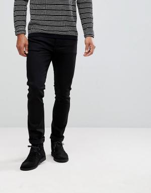 Nudie Jeans Черные джинсы скинни Co. Цвет: черный