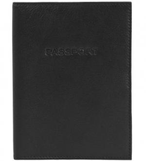 Кожаная обложка для паспорта Picard. Цвет: черный