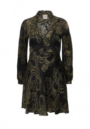 Платье Nolita. Цвет: хаки