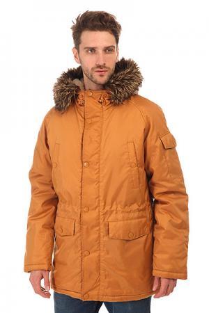Куртка парка  Oxford Parka Brown Today. Цвет: коричневый