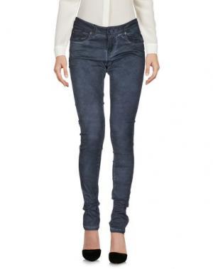 Повседневные брюки GARCIA JEANS. Цвет: свинцово-серый