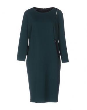 Короткое платье SUPERIOR. Цвет: темно-зеленый