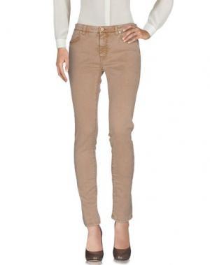 Повседневные брюки JECKERSON. Цвет: песочный