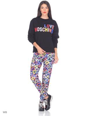 Брюки Love Moschino. Цвет: синий