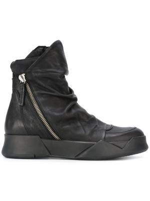 Ботинки на молнии Ca By Cinzia Araia. Цвет: чёрный