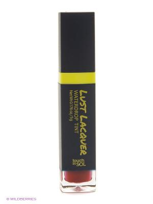 Глянцевый тинт для губ Lust Laquer  №6 Medusa, 5г Touch in sol. Цвет: бордовый