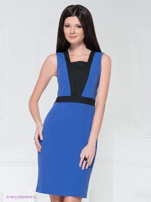 Платье LuAnn. Цвет: синий, черный