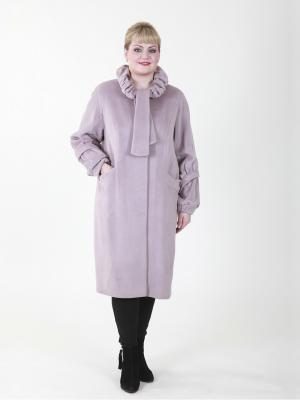 Пальто Наоми VIKO. Цвет: сиреневый