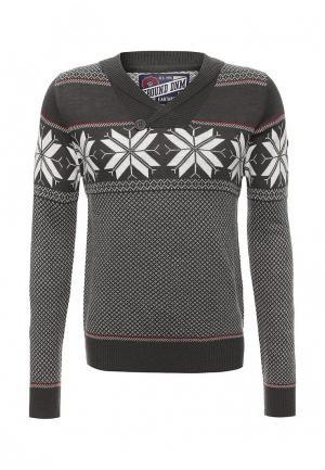 Пуловер E-Bound. Цвет: серый