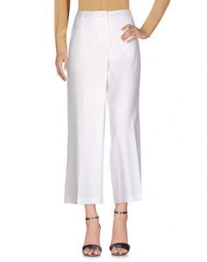 Повседневные брюки SEVENTY SERGIO TEGON. Цвет: белый