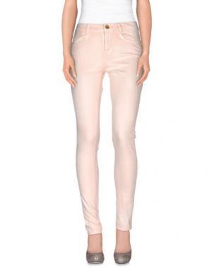 Повседневные брюки MORGAN DE TOI. Цвет: светло-розовый