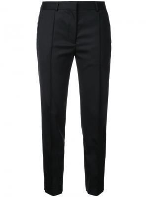 Классические брюки-сигареты Rokh. Цвет: чёрный