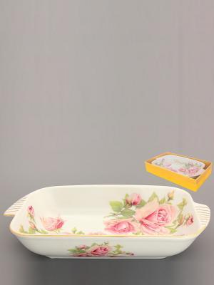 Шубница Розовая фантазия Elan Gallery. Цвет: розовый, белый, зеленый